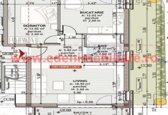 Apartament 2 camere de vanzare in Cluj, zona Zorilor, 73750 eur
