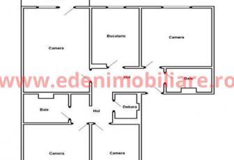 Apartament 4 camere de vanzare in Cluj, zona Marasti, 76000 eur
