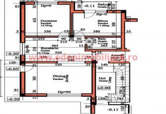 Apartament 3 camere de vanzare in Cluj, zona Europa, 86000 eur