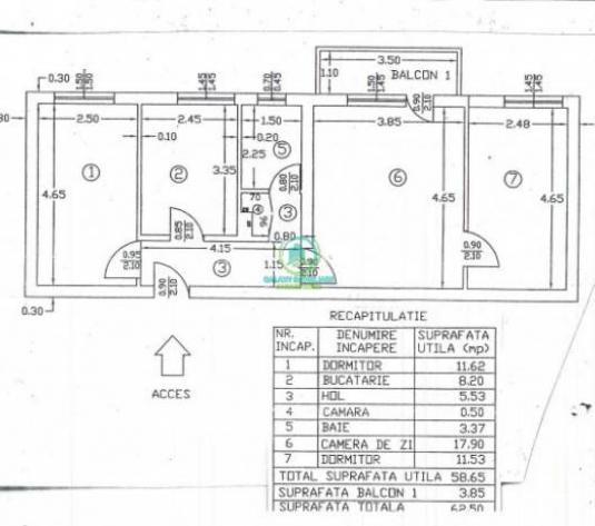 Vanzare apartament 3 camere in Pitesti Ultracentral - imagine 1