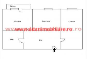 Apartament 2 camere de vanzare in Cluj, zona Manastur, 57000 eur