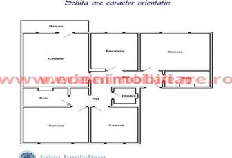 Apartament 4 camere de vanzare in Cluj, zona Manastur, 72000 eur
