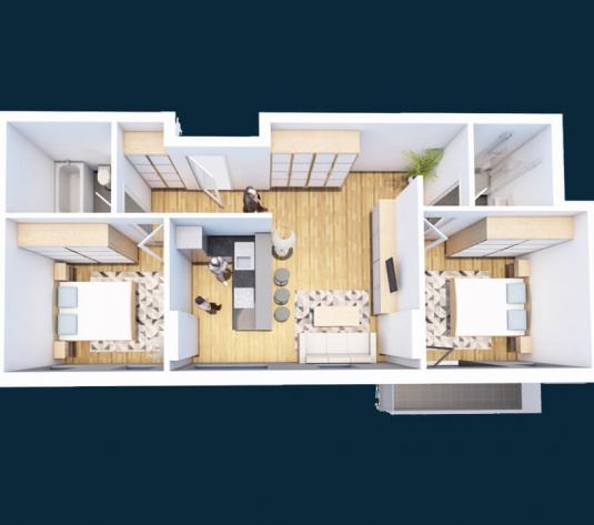 Apartament 3 camere Cluj Napoca, Iris - imagine 1
