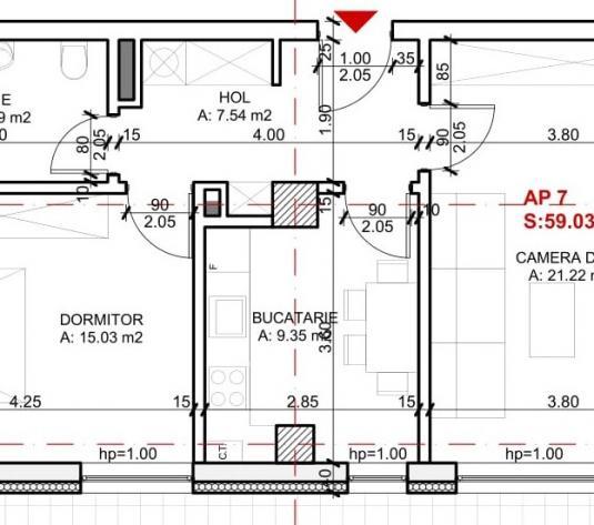 Ap.2 camere 59 mp utili, constructie noua, finisat, garaj Gheorgheni - imagine 1