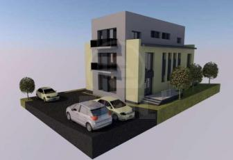 Apartament de vanzare 2 camere  in constructie noua, parcare, 54 mp, decomandat, etaj parter/2 in Borhanci, Borhanci