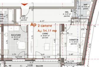 Apartament cu 2 camere de vânzare în zona USAMV + parcare