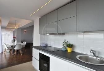 De Inchiriere apartament 4 camere  in constructie noua, 156 mp, semidecomandat, etaj 6/7 in Buna Ziua, Buna Ziua