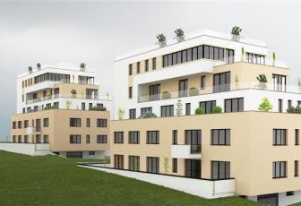 Apartament cu terasa si gradina, imobil nou in Buna Ziua
