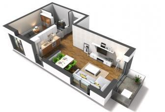 Apartament 2 camere de vanzare Intre Lacuri