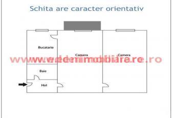Apartament 2 camere de vanzare in Cluj, zona Gheorgheni, 58000 eur