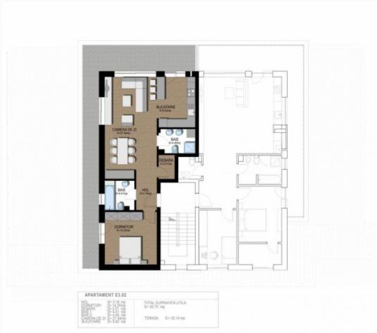 Apartament cu 3 camere Europa