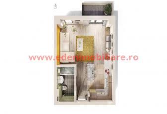 Apartament 1 camera de vanzare in Cluj, zona Andrei Muresanu, 39500 eur