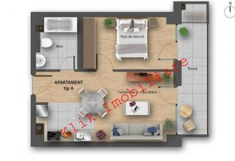 Apartament 1 camera in proiect nou exclusivist Buna Ziua
